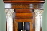 Palatial Regulator Clock - Exhibition quality with carved marble pillars (6 of 12)