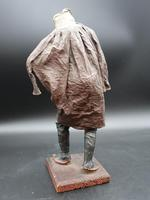 A Very Well Modelled Mid 19th Century Papier-Mâché Figure of a Fruit Seller (2 of 5)
