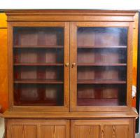 Oak Pine School Cabinet 19th Century (4 of 12)