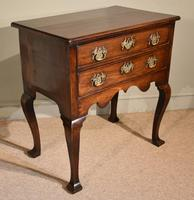 George III Lowboy on Square Cabriole Legs (6 of 7)