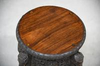 Anglo Indian Padouk Side Table (3 of 11)