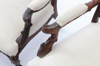 Pair of 19th Century Black Forest Open Armchairs (5 of 10)