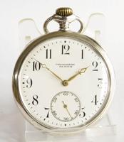 Antique Silver Zenith Pocket Watch (2 of 5)