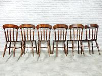 Set of 6 Windsor  Spindleback Kitchen Chairs (4 of 7)