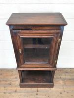 Antique Oak Cupboard on Stand (2 of 13)