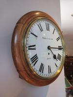 Antique Single Fusee London Wall Clock (6 of 7)
