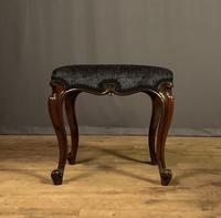 Useful Victorian Rosewood Stool (6 of 11)