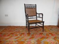 E. W. Godwin Ebonised Chair (2 of 6)