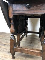 18th Century Oak Gateleg Table (9 of 14)