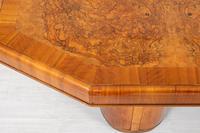 Stunning Art Deco Walnut Dining Table (5 of 8)