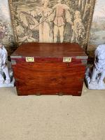 19th C Brass Bound Campaign Style Chest (4 of 8)