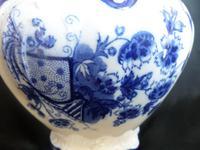 Wash Jug c1890 Blue/White (5 of 5)