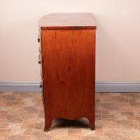 19th Century Mahogany Bow Fronted Chest of Drawers (9 of 15)