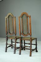 Pair of Walnut & Cane Carolean Chairs (11 of 11)