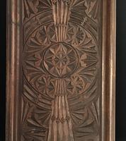 Victorian  Carved Wood Two Handle Drinks Tray (3 of 4)