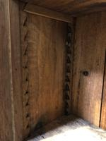 Oak Breakfront Open Bookcase (15 of 20)