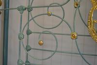 Antique Victorian Brass & Iron Bed 5ft Kingsize Bedstead Sympathetically Restored (8 of 17)