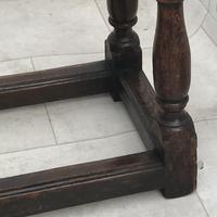Pair of Oak Coffin Stools Circa Late 17th Century (6 of 24)