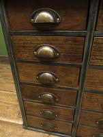 Reclaimed Scratch Built Bank of Drawers, Industrial Crafting or Tool Drawers (5 of 16)