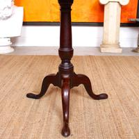 Georgian Tripod Table Tilt Top Mahogany Folding (8 of 9)