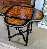 Inlaid Marquetry Table