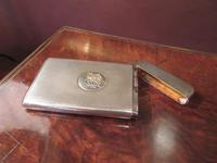 Victorian Silver Engine Turned Card Case (6 of 6)