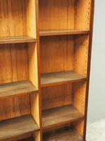 Victorian Mahogany Open Bookcase (8 of 11)