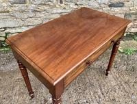 Antique Victorian Mahogany Side Table (3 of 17)