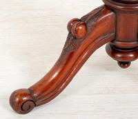 Pretty Victorian Mahogany Wine Table (3 of 5)