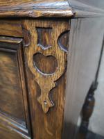 Golden Oak Cocktail Cabinet / Sideboard (7 of 8)