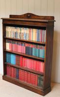 Oak Open Bookcase c.1910 (10 of 10)