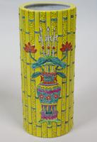 Good Pair of Chinese Tongzhi Period Bamboo Vases (6 of 9)