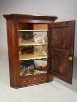 Late 18th Century Panelled Hanging Corner Cupboard (2 of 4)