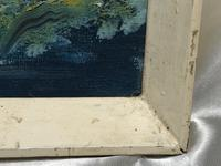 20th Century Oil Painting Wales Menai Bridge Church Straits Snowdonia Mountains (13 of 27)