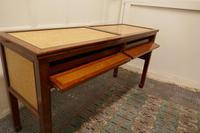 Art Deco Style Walnut & Maple Reception Desk (3 of 7)