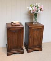 Pair of Oak Bedside Cabinets (11 of 12)