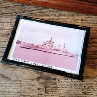 HMS TIGER Mahogany framed illuminated sign. Mid 20th Century militaria (11 of 12)
