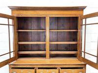 Antique 19th Century Glazed Oak Dresser (7 of 10)