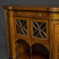 Victorian Rosewood Side Cabinet (3 of 17)