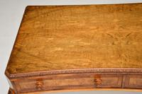 Antique Burr Walnut Queen Anne Style Console Server Table (9 of 10)