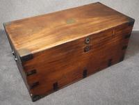 Large 19th Century Camphor Wood Chest V/ Trunk (11 of 11)