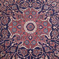 Very Large Antique Heriz Carpet, Persian, Room Size, Rug, Edwardian, Circa 1910 (4 of 12)