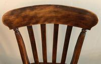 Set OF Three Victorian Slat Back Chairs (5 of 7)