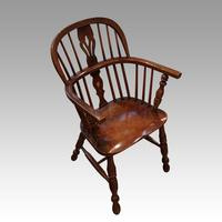 Pair of 19th Century Windsor Armchairs (3 of 6)