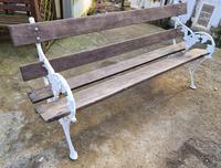 19th Century Scottish Garden Bench (2 of 10)