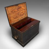 Antique Master Craftsman's Chest, English, Pine, Mahogany, Tool Trunk, Victorian (8 of 12)
