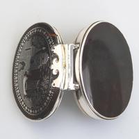 Fine Charles II Solid Silver, Pique & Tortoiseshell Snuff Box C.1680 (6 of 11)