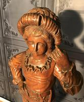 Italian Carved Hardwood Figure of a Boy (9 of 23)