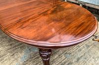 Super Quality Victorian Mahogany Extending Dining Table Seats 14 (6 of 18)