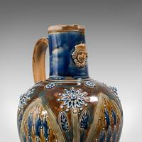 Antique Serving Ewer, English, Ceramic, Decorative, Amphora, Victorian, 1876 (8 of 12)